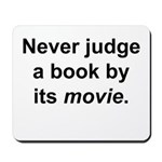 Judge Book Mousepad
