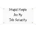 Job Security Banner