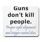 Guns Trigger Mousepad