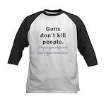 Guns Trigger Kids Baseball Jersey