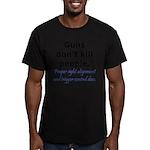 Guns Trigger Men's Fitted T-Shirt (dark)