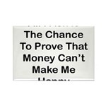 Chance Money Rectangle Magnet (100 pack)