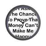 Chance Money Wall Clock