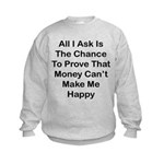 Chance Money Kids Sweatshirt