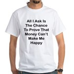 Chance Money White T-Shirt