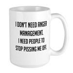 Anger Management Large Mug