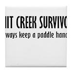 Shit Creek Tile Coaster