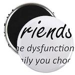 Friends Dysfunction Magnet