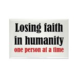 Losing Faith Rectangle Magnet (100 pack)