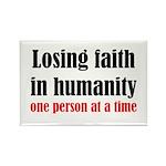 Losing Faith Rectangle Magnet