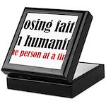 Losing Faith Keepsake Box
