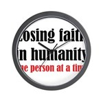 Losing Faith Wall Clock