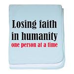 Losing Faith baby blanket