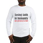 Losing Faith Long Sleeve T-Shirt