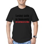 Losing Faith Men's Fitted T-Shirt (dark)