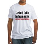 Losing Faith Fitted T-Shirt