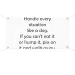 Dog Situation Banner
