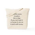 Dog Situation Tote Bag