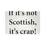 Scottish Crap Rectangle Magnet (10 pack)