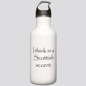 Scottish Accent Stainless Water Bottle 1.0L