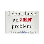 Idiot Problem Rectangle Magnet (100 pack)