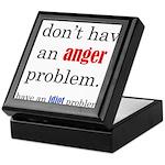 Idiot Problem Keepsake Box
