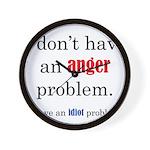 Idiot Problem Wall Clock