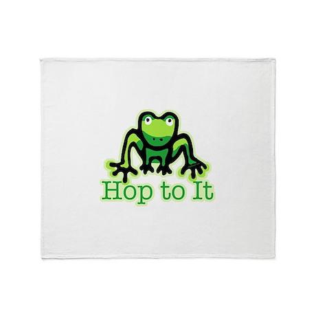 Hop To It Throw Blanket