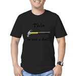 Not A Drill Men's Fitted T-Shirt (dark)