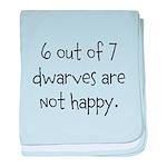 Happy Dwarves baby blanket