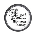 Good Bear Wall Clock