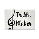 Treble Maker Rectangle Magnet (100 pack)
