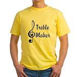 Treble Maker Yellow T-Shirt