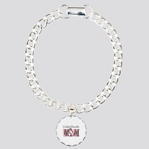 GoldenDoodle MOM Charm Bracelet, One Charm
