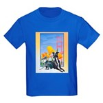 No. CA. Italian Greyhound Club Kids Dark T-Shirt