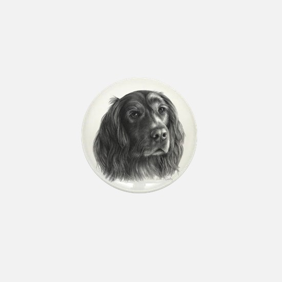 Irish Setter Mini Button