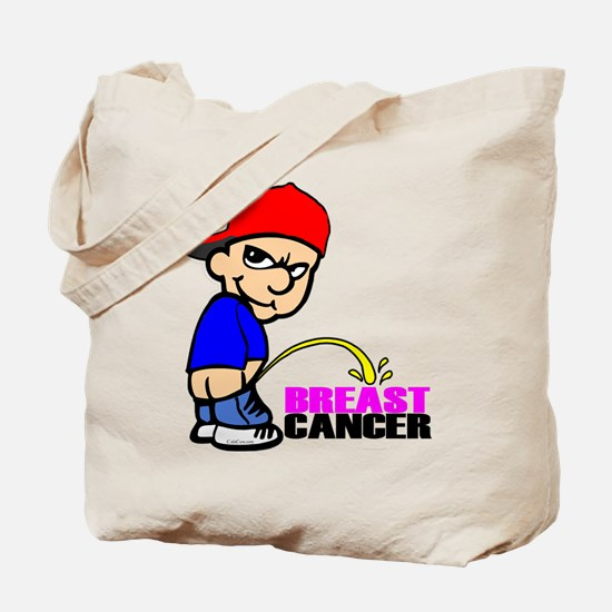 Take No Prisoners Breast Canc Tote Bag