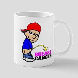 Take No Prisoners Breast Canc Mug