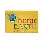 Nerac Earth Rectangle Magnet