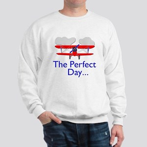 The Perfect Day Biplane Sweatshirt