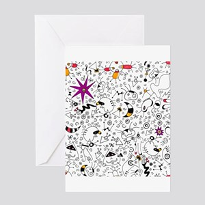 Inspired by Miro Greeting Cards