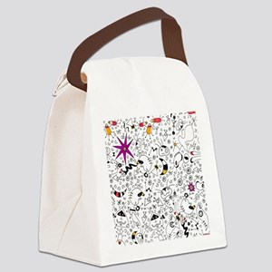 Inspired by Miro Canvas Lunch Bag