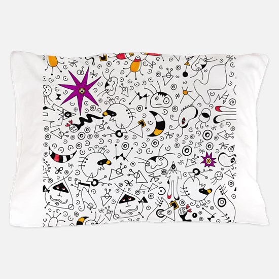 Inspired by Miro Pillow Case