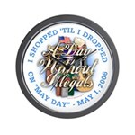 Day Without Illegals Wall Clock
