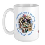 Day Without Illegals Large Mug