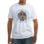 Day Without Illegals Fitted T-Shirt