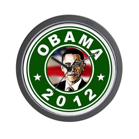 Obama 2012 Election Commemorative Wall Clock