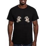 Prevent Cancer Men's Fitted T-Shirt (dark)