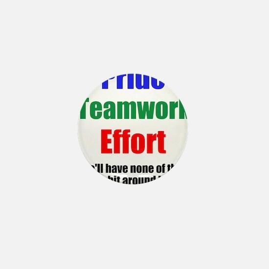 Teamwork Pride Mini Button