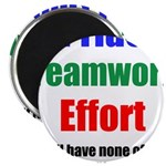 Teamwork Pride Magnet